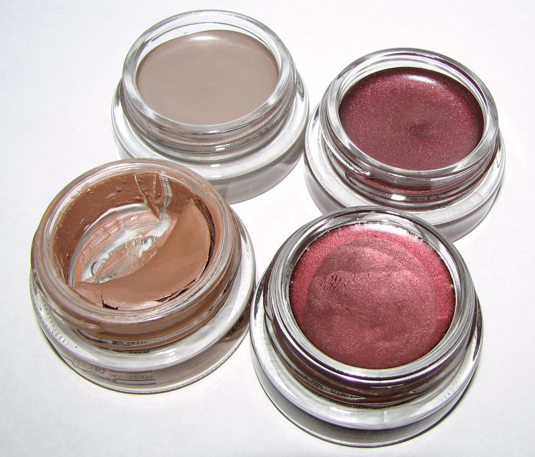 Maybelline TOUGH AS TAUPE and POMEGRANATE PUNK Eye Studio Color ...