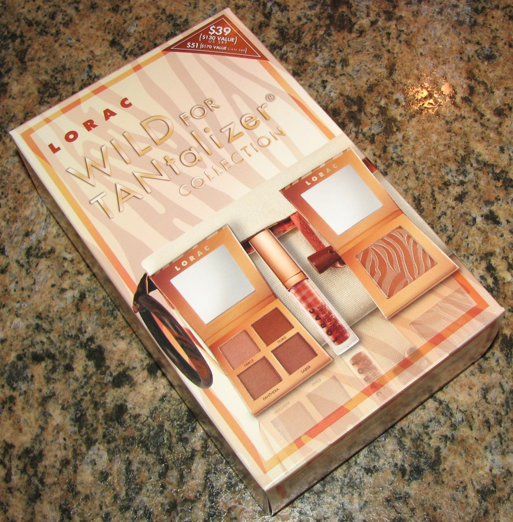 LORAC Wild For TANtalizer Collection Swatches, Review, and FOTD