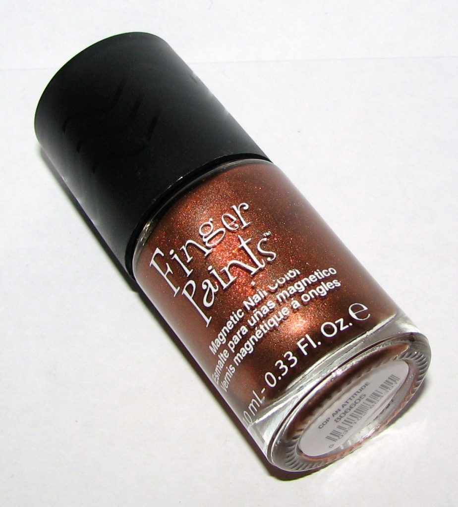 Finger Paints COP AN ATTITUDE Magnetic Effects Nail Polish Swatches and Review