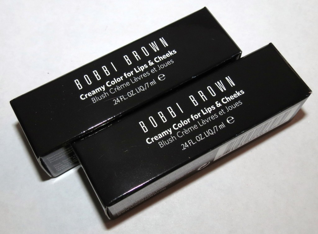 Bobbi Brown PINK TRUFFLE, HONEYED TEA Creamy Color for Lips & Cheeks Swatches and Review – Desert Twilight Collection Fall 2012