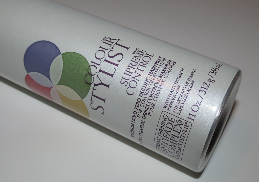 Pureology Introduces Supreme Control Maximum Hold Zero Dulling Hairspray