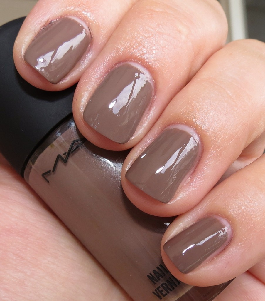 MAC Coffee Break Nail Polish Swatches & Review