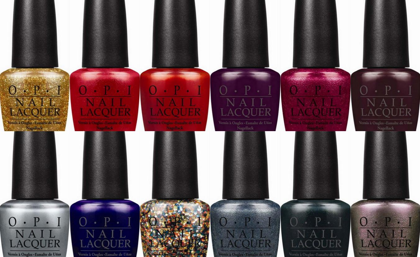 OPI Marks 50 Years of Bond 007 with Holiday Lacquers ...