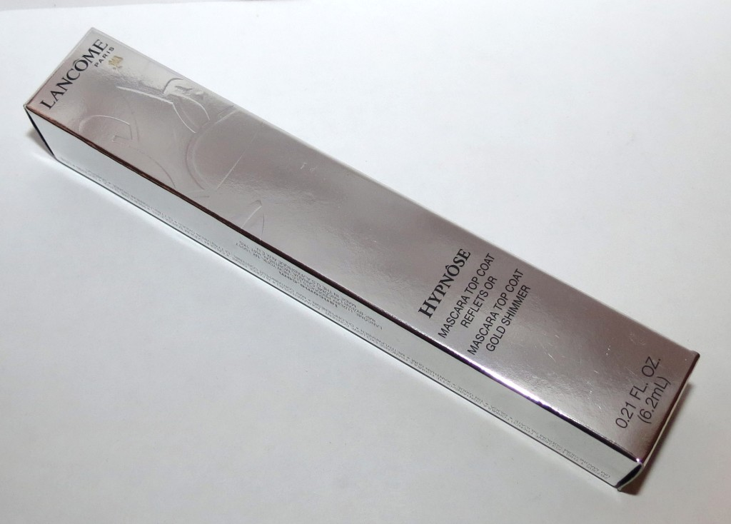 Lancome 24 KARAT Reflets Or Hypnose Mascara Top Coat – Holiday 2012