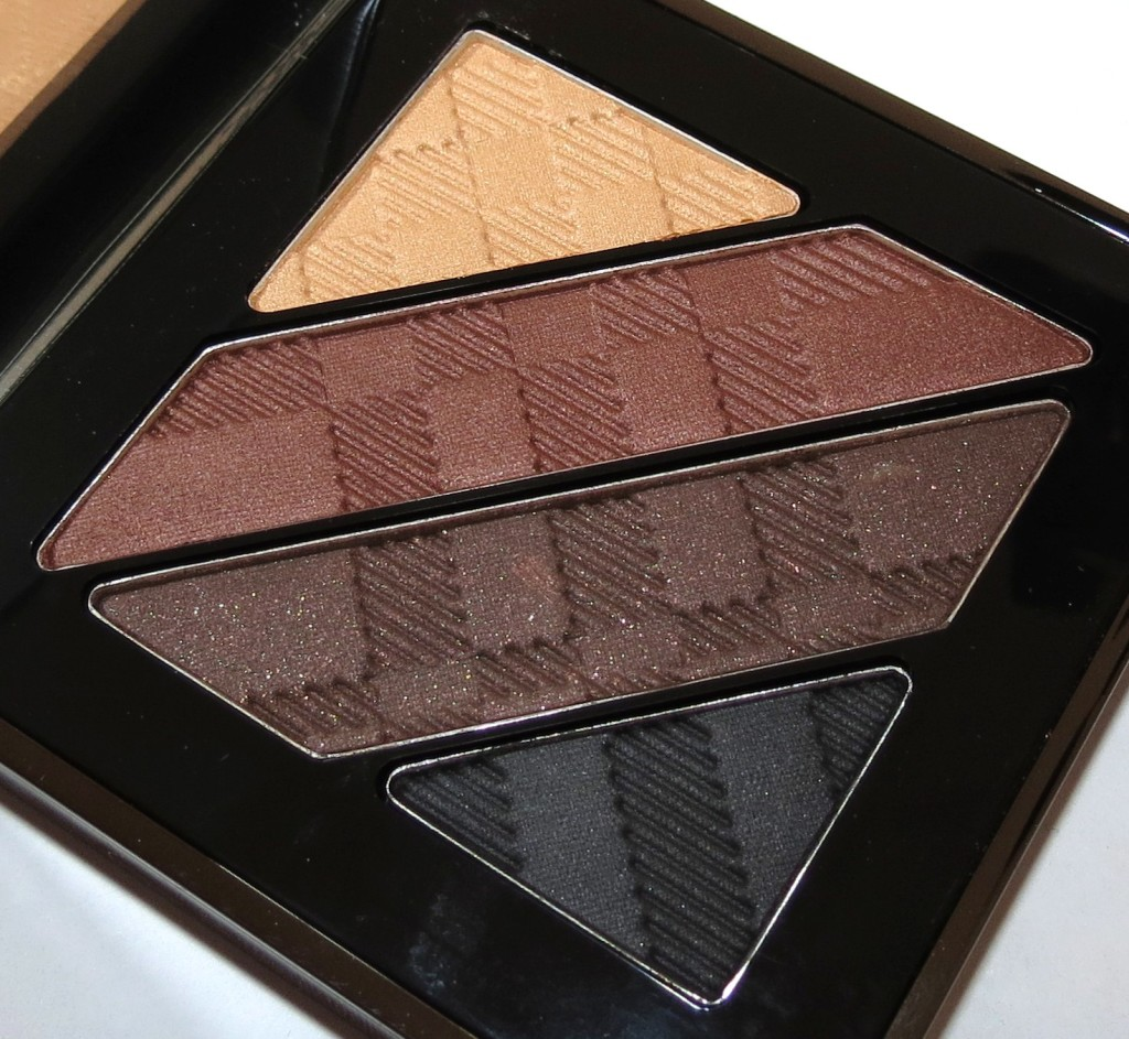 Burberry DARK SPICE Complete Eye Palette Swatches, Review and EOTD