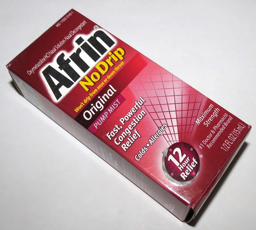 Afrin No Drip Pump Mist Photos & Review