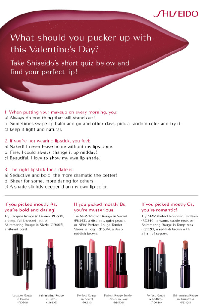 Shiseido - Vday