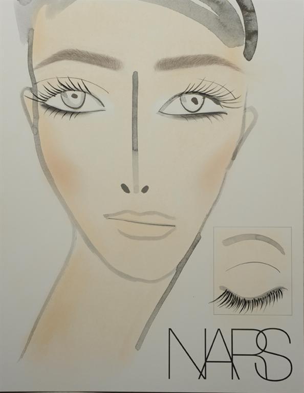 NARS AW13 Naeem Khan face chart - lo res