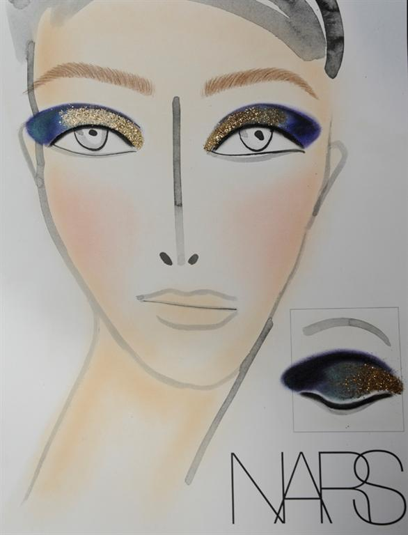 NARS AW13 Thakoon face chart - lo res