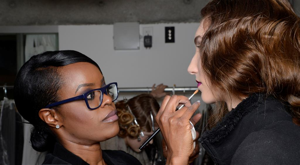 NARS AW13 Tia Cibani artist in action - lo res