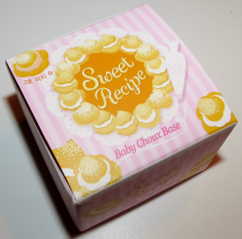 Etude House Sweet Recipe Baby Choux Base in #03 Peach Choux Swatches & Review