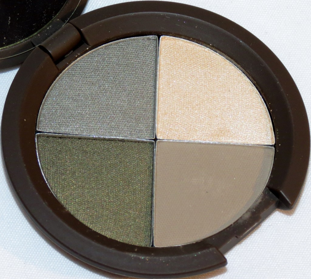 Becca ECLIPSED Ultimate Eye Colour Quad Swatches, Review & EOTD