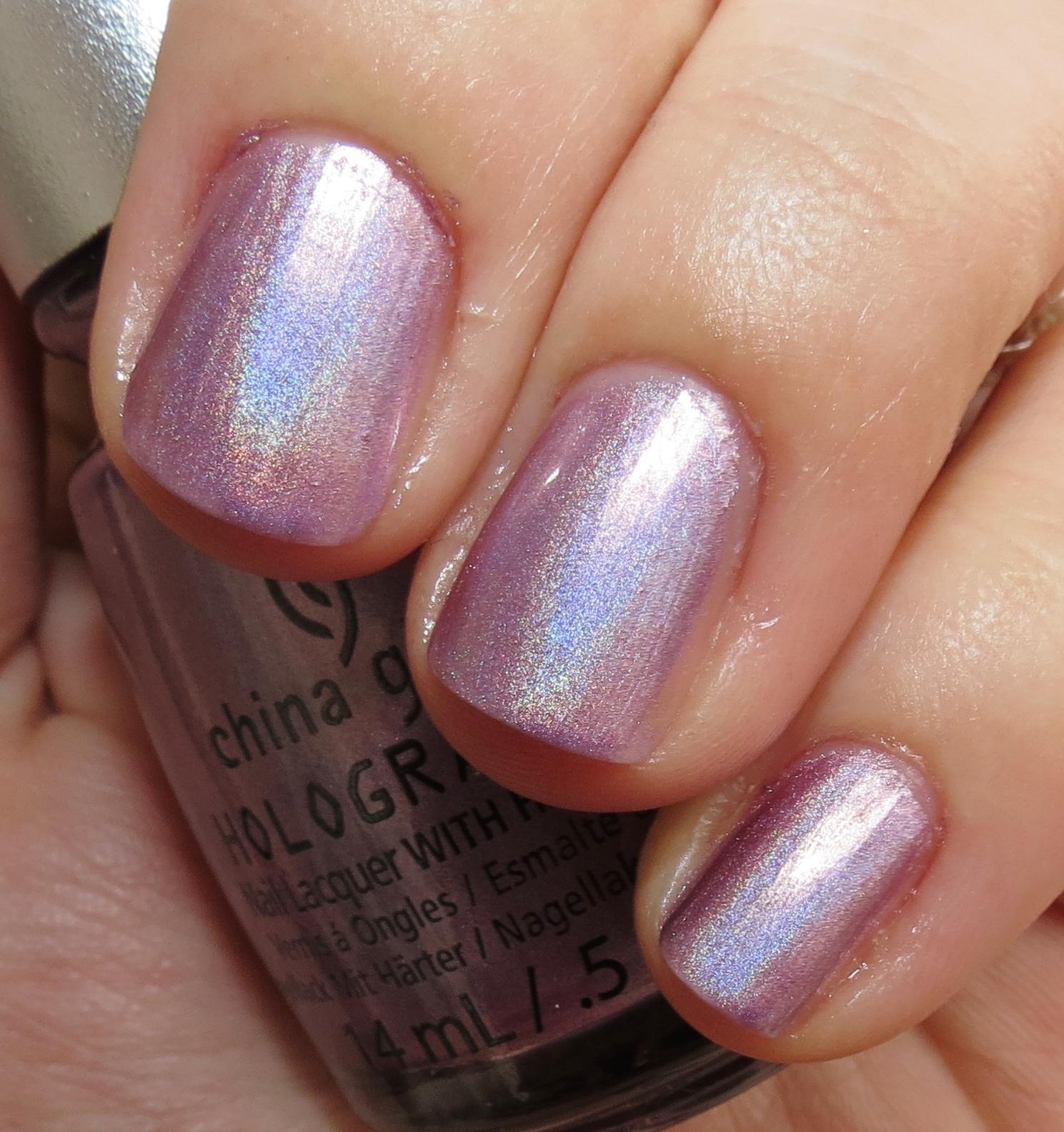 China Glaze Rainbow Nail Polish Swatch