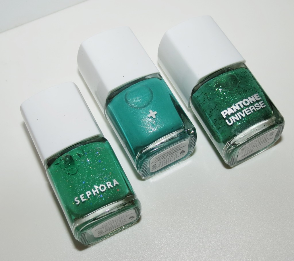 Sephora + Pantone Universe Mini Graphic Effect Nail Lacquers Swatches & Review