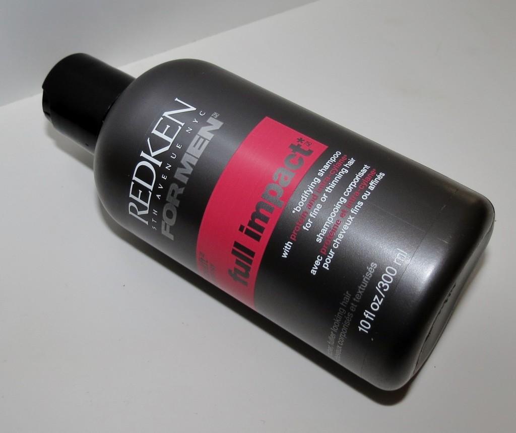 Redken for Men Full Impact Bodifying Shampoo Photos & Review