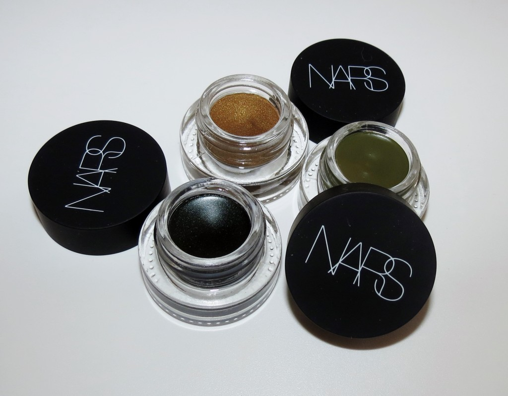 NARS Iskandar, Mozambique, Snake Eyes Eye Paint Swatches, Review & EOTD