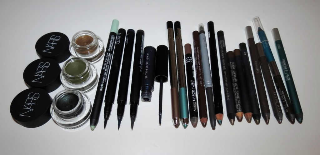My Top 10 (or more) Favorite Eyeliners