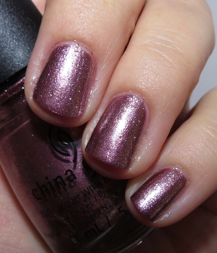 China Glaze Strike Up a Cosmo Nail Polish
