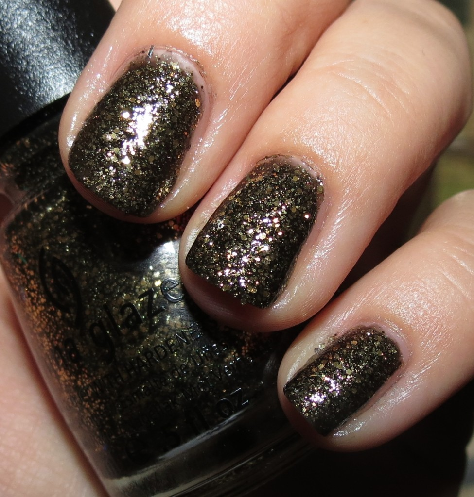 China Glaze Bat My Eyes Nail Polish