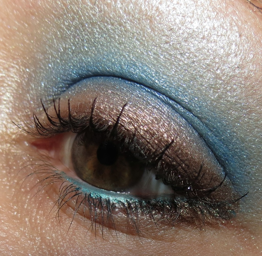 NARS Wishful Thinking Cinematic Eyeshadow EOTD
