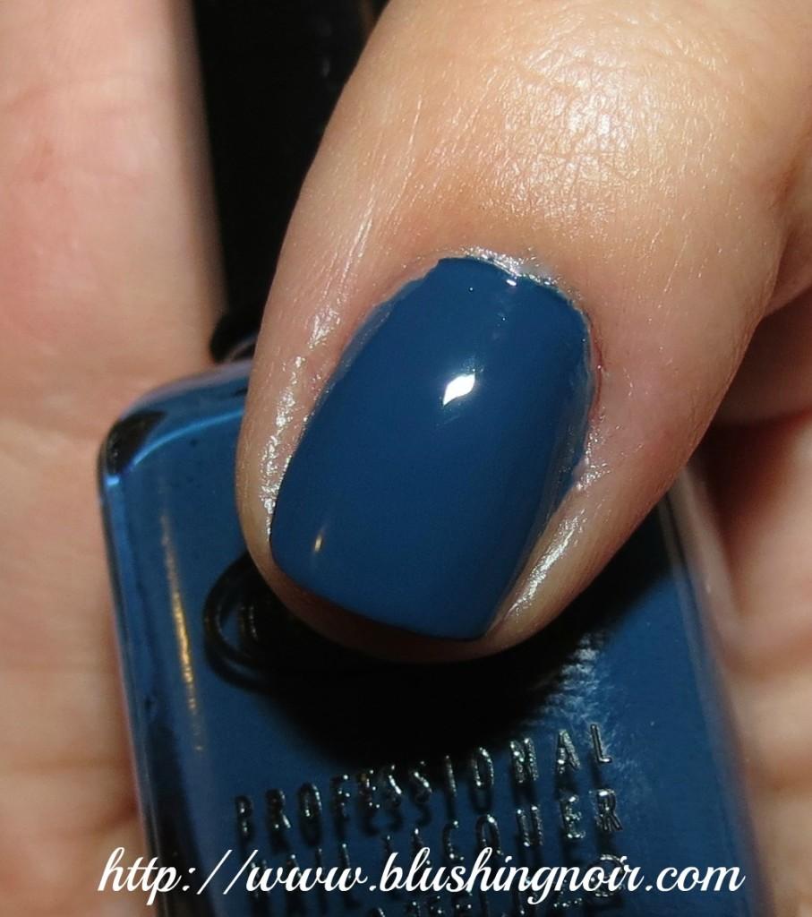 Color club Baldwin Blues nail polish swatches