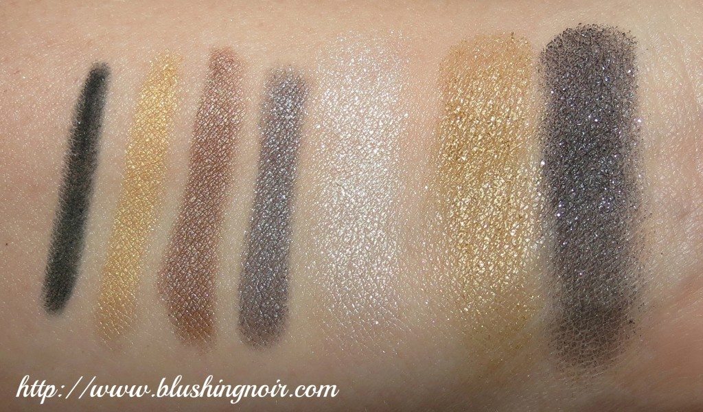 CoverGirl swatches