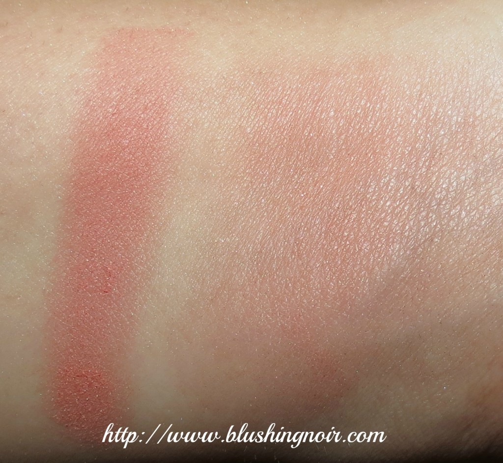 Dior Cocktail Peach Vibrant Colour Powder Blush Swatches