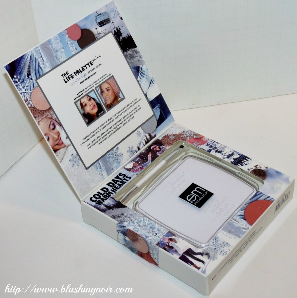 EM Life Palette Winter Edition Interior Packaging