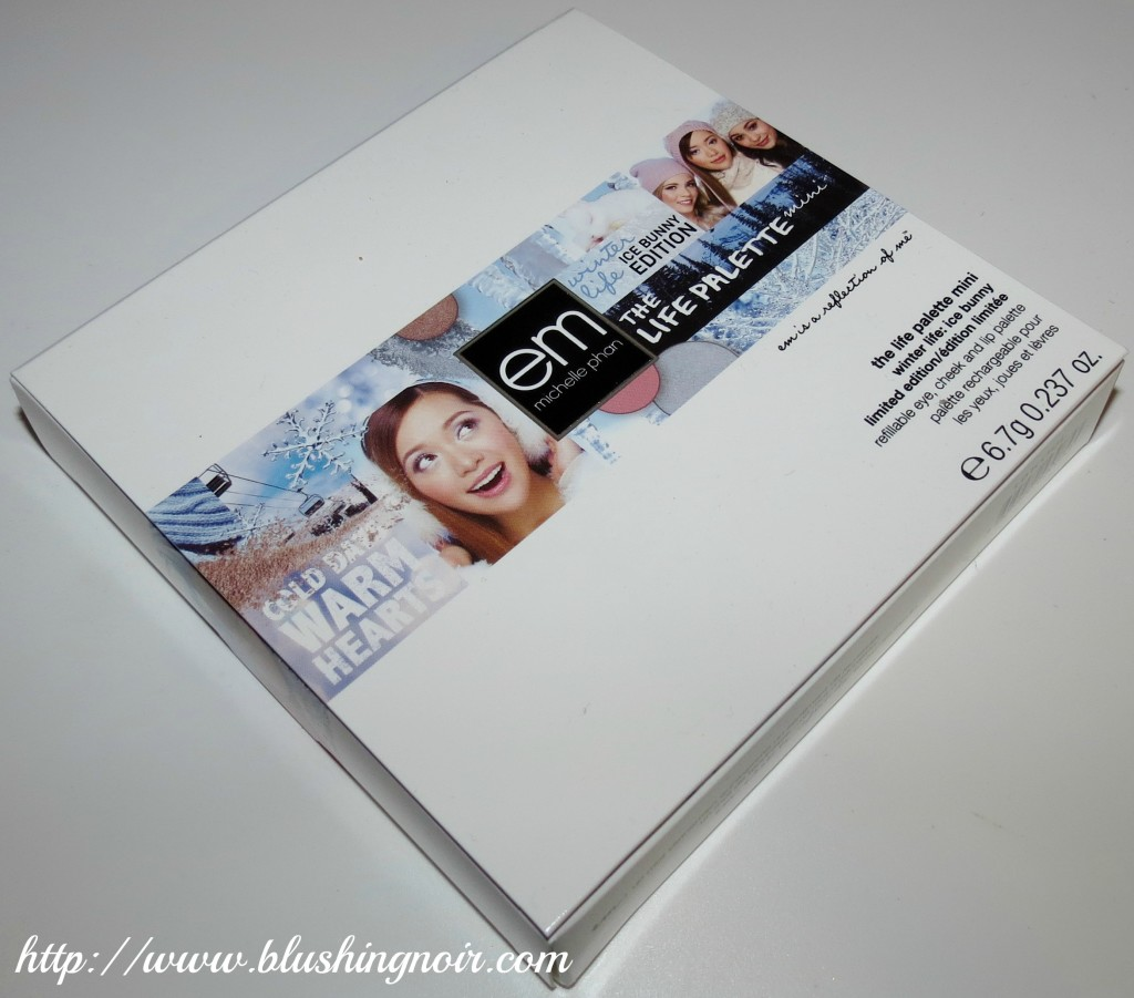 EM Winter Life Palette Ice Bunny Edition Box Front