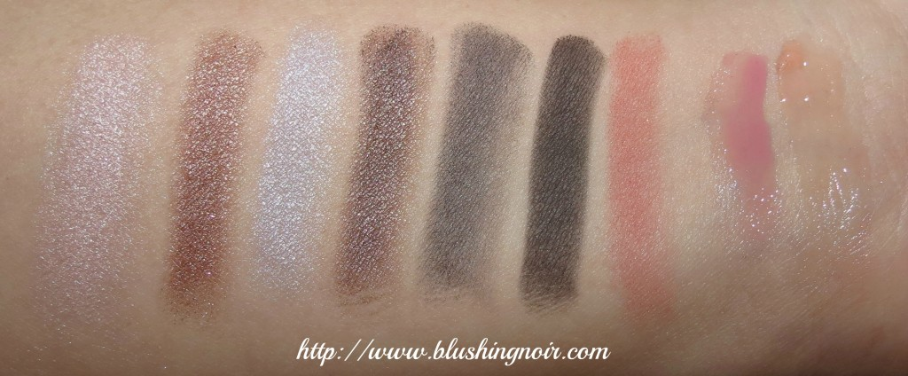 EM Winter Life Palette Ice Bunny Swatches