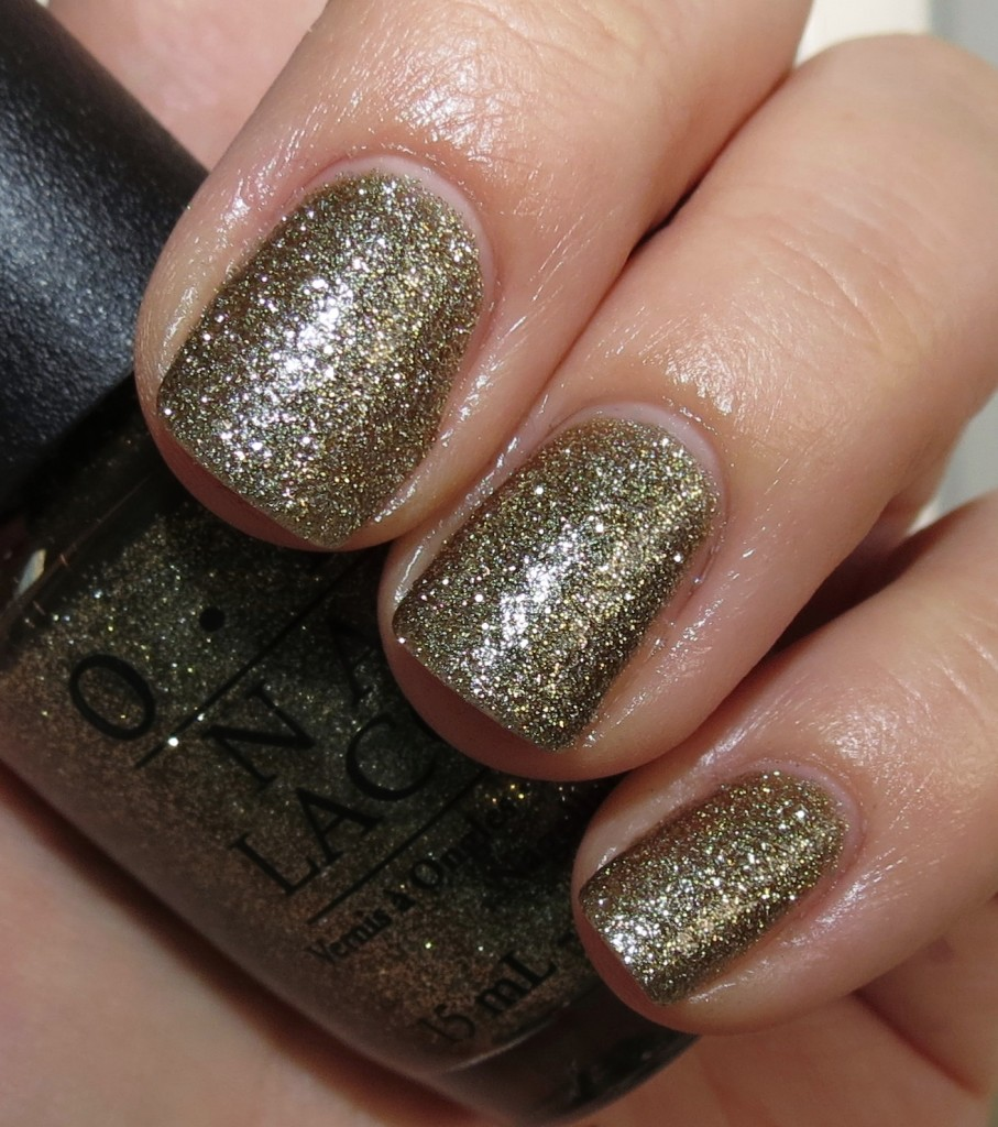 OPI All Sparkly and Gold Nail Polish