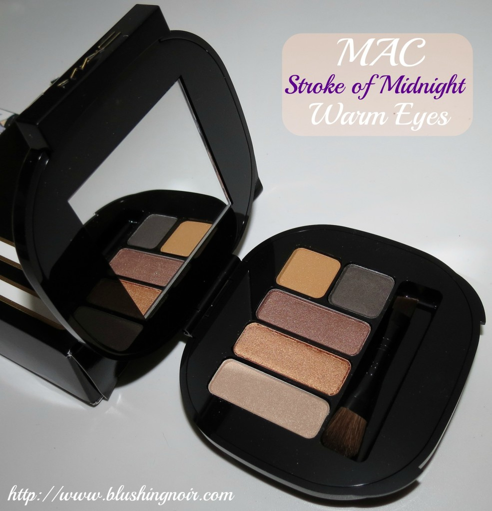 MAC Stroke of Midnight Warm Eyes Palette 2