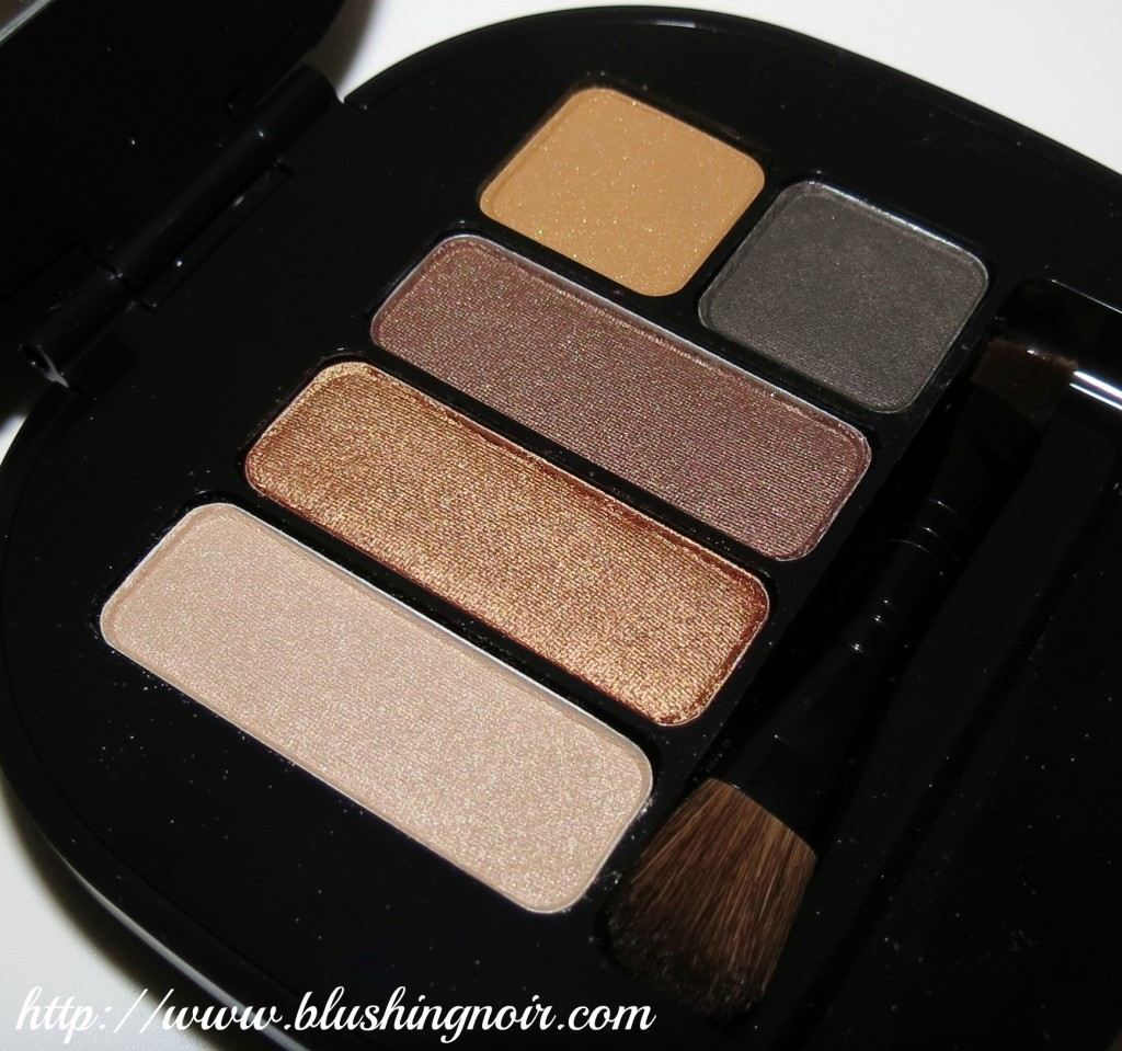 MAC Stroke of midnight warm eyes palette shadows