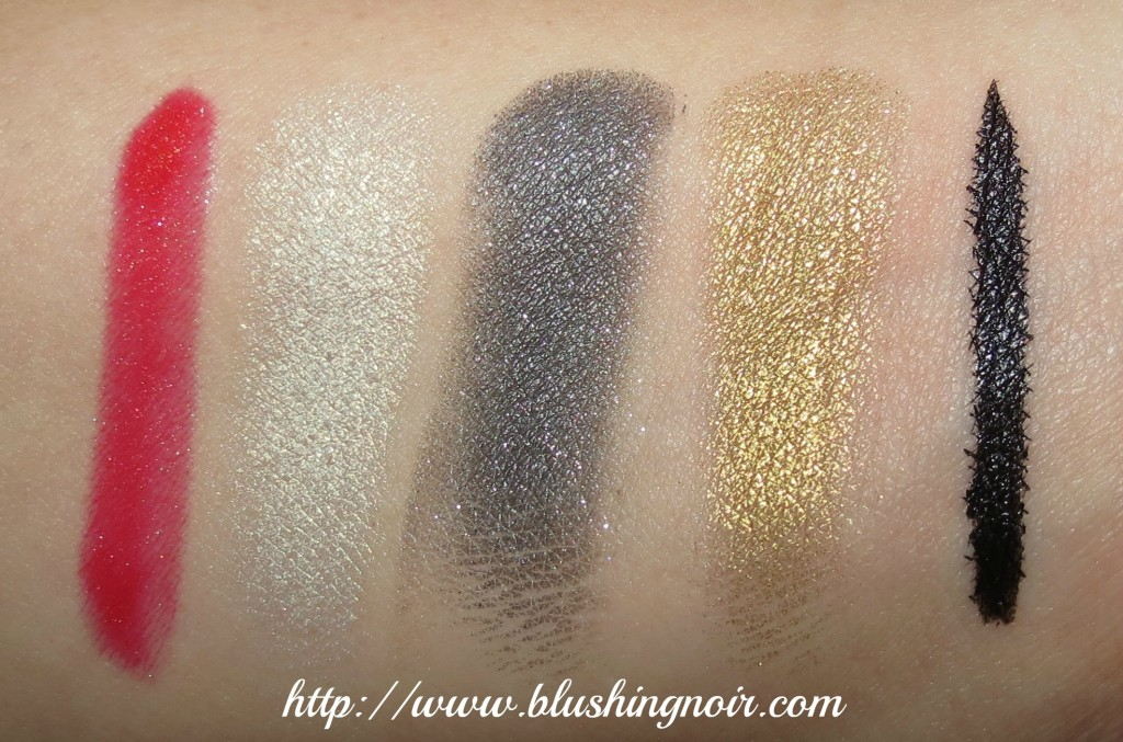 Marc Jacobs The Showstopper 7-Piece Holiday Set Swatches