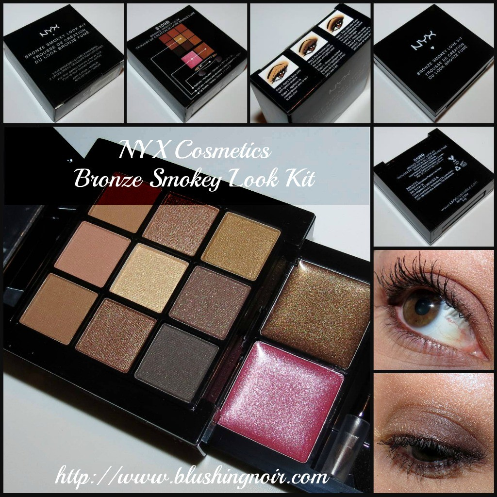 NYX Cosmetics Bronze Smokey Look Kit