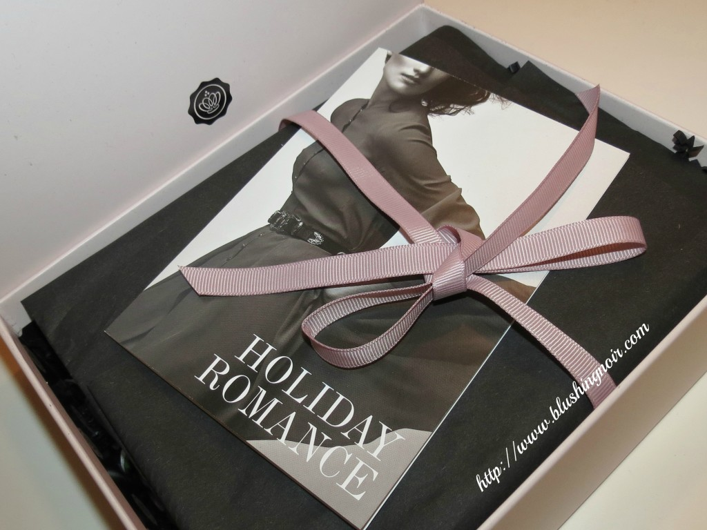 November 2013 GlossyBox Holiday Romance