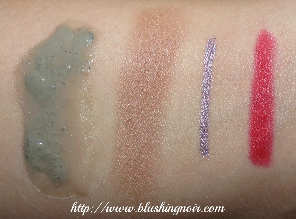 November 2013 ipsy Glam Bag Swatches