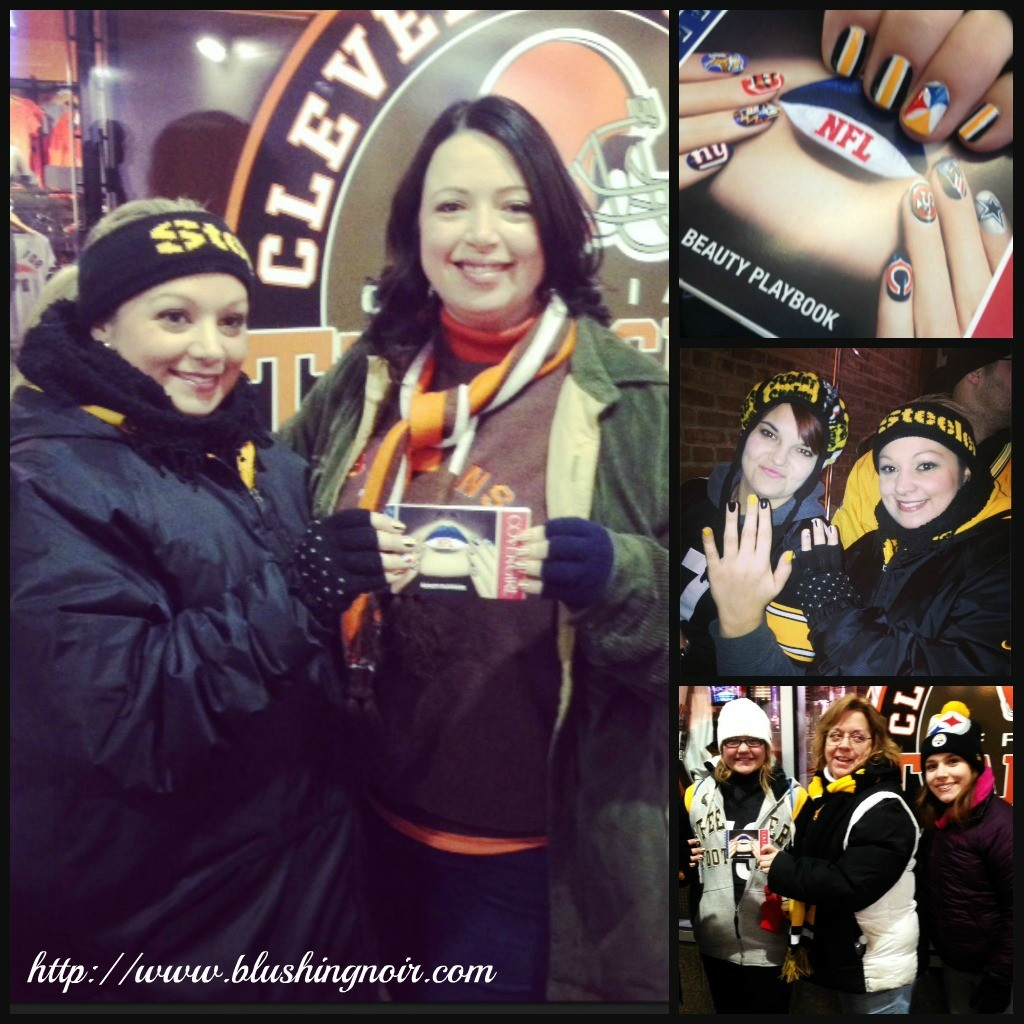 Steelers coverGirl Playbook #fanicure #nailgating
