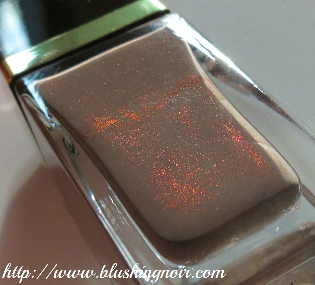 Tom Ford Black Sugar Nail Lacquer Swatches & Review