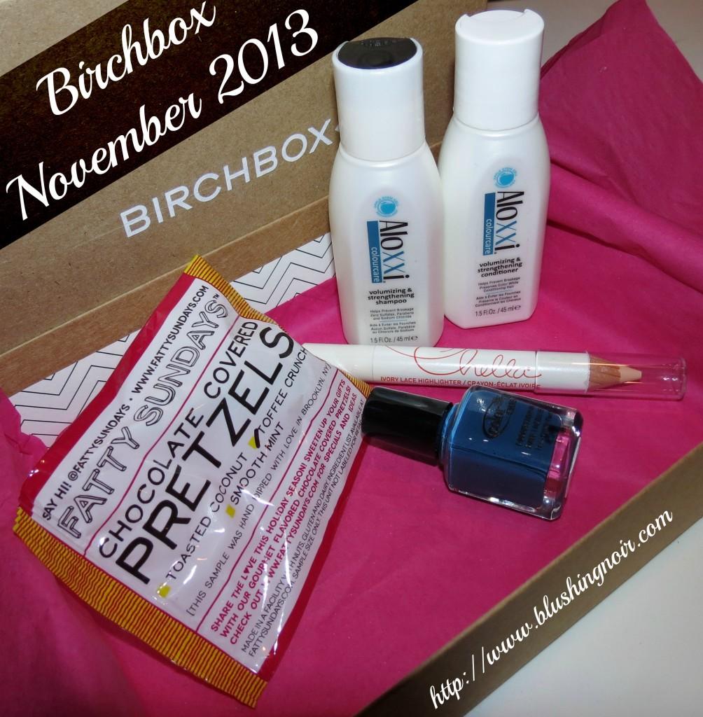 birchbox November 2013