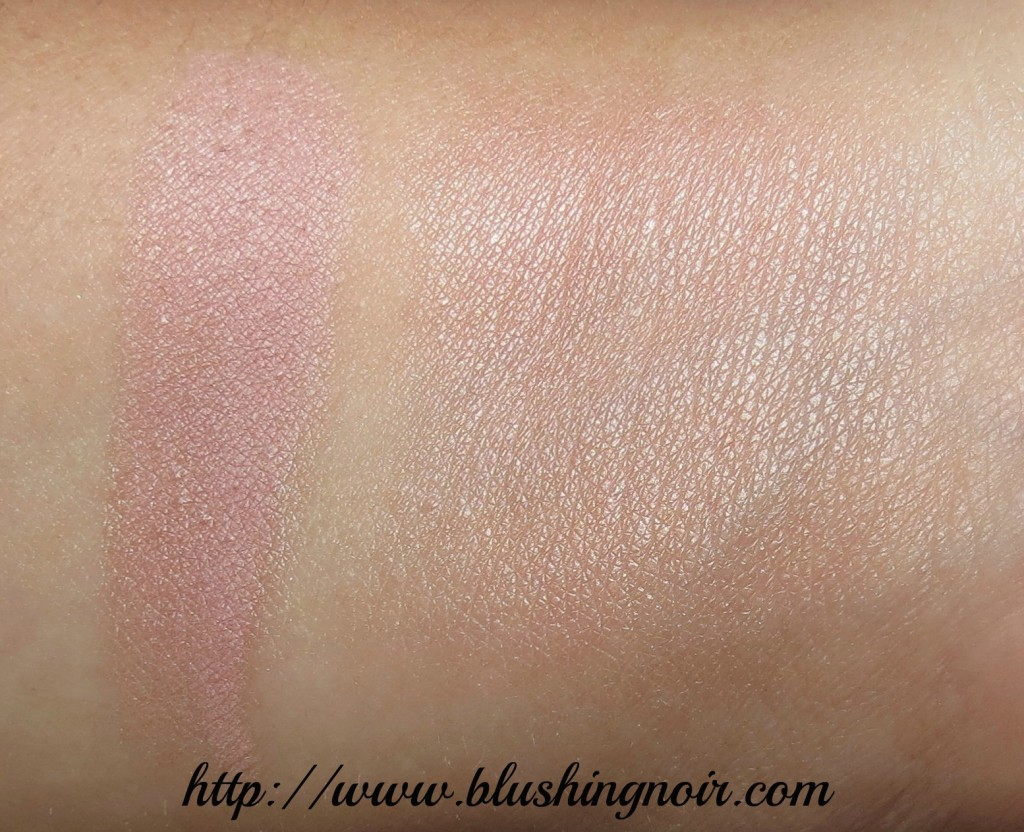hourglass MOOD LIGHT Ambient Lighting Powder Swatches