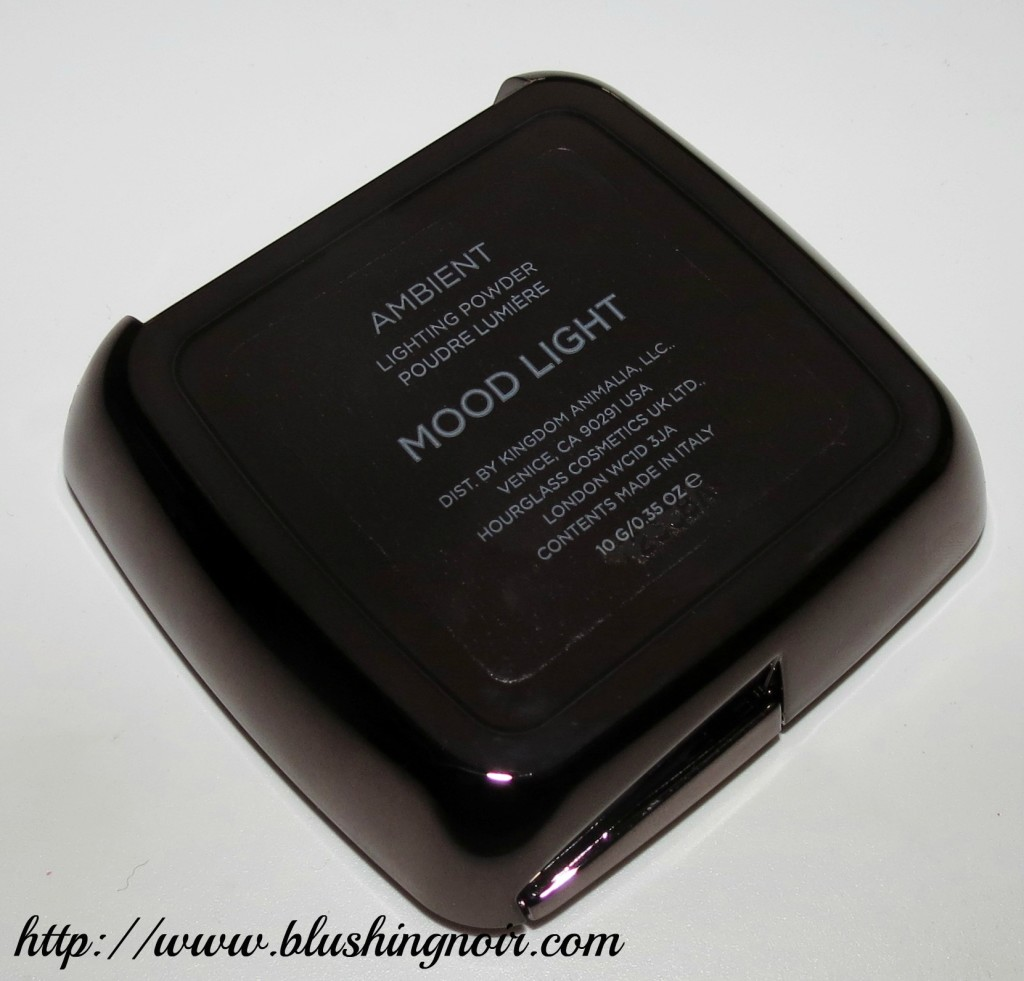 hourglass ambient lighting powder mood light back