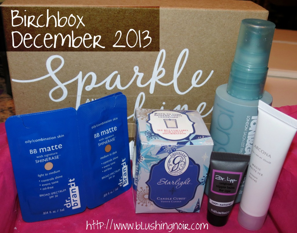 BIRCHBOX December 2013 Swatches Review