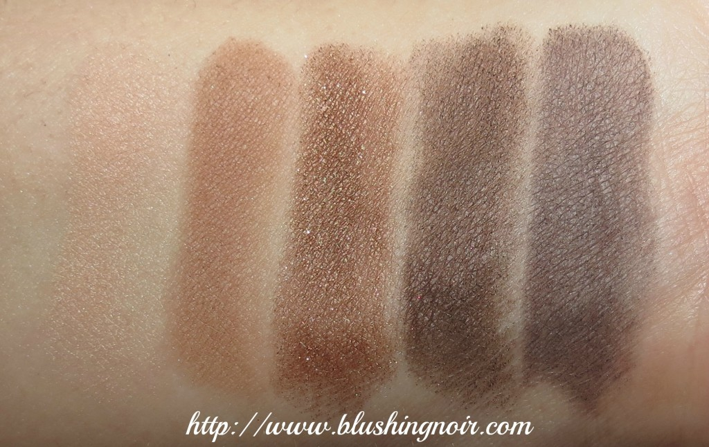 Chanel Charming Palette swatches