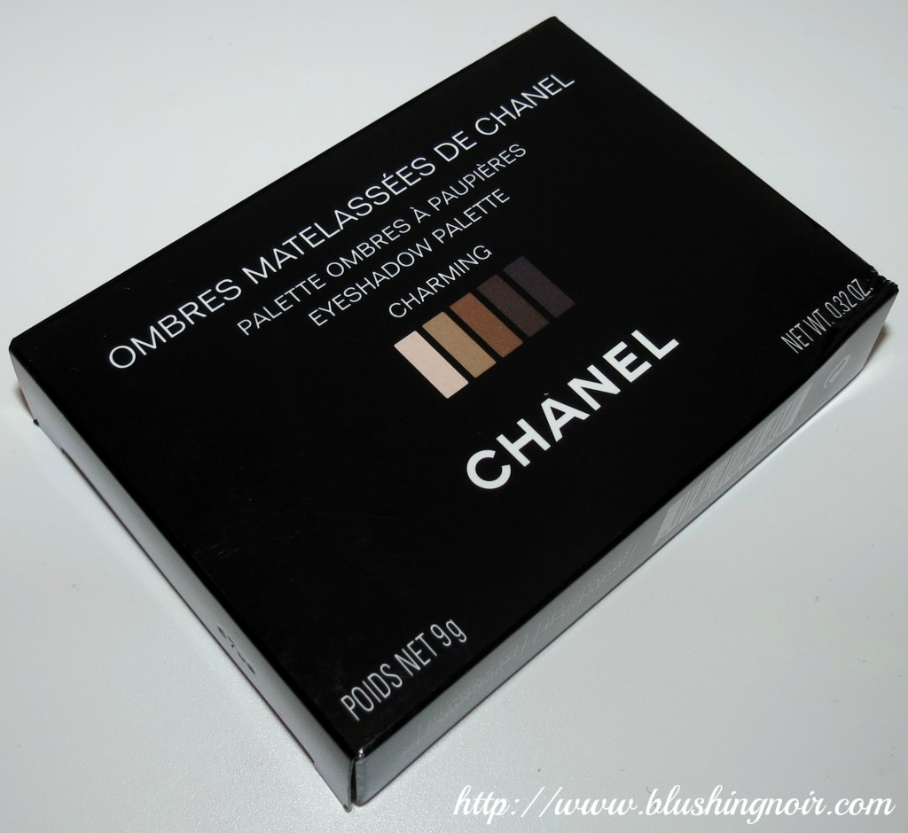 Chanel charming palette box