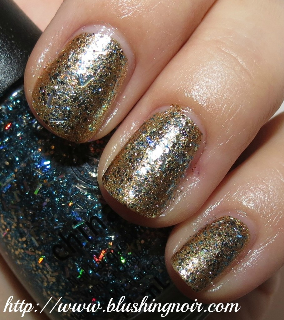 China Glaze Bells Will Be Blinging Nail Polish