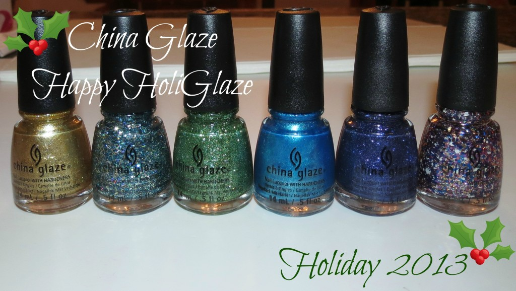 China Glaze Happy HoliGlaze Holiday Collection