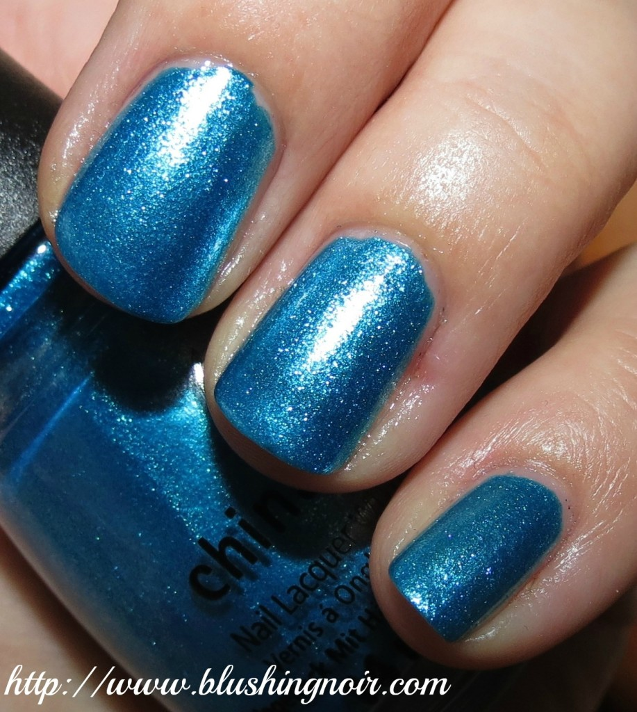 China Glaze So Blue Without You Nail Polish