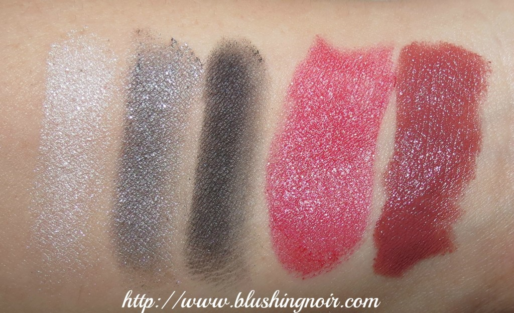 December 2013 ipsy Glam Bag swatches