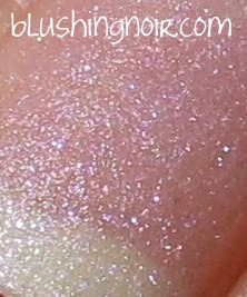 Dior Vernis 187 Perle Nail Polish matte swatch macro